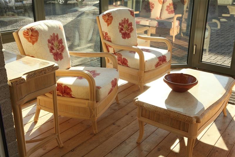 Rotan meubelen bij b f aluwerken in holsbeek te vlaams brabant uw specialist voor rotan - Woonkamer rotan voor veranda ...