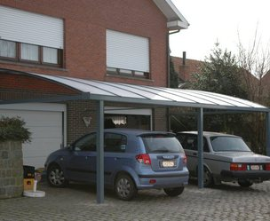 B&F aluwerken bvba - Holsbeek - Car Port