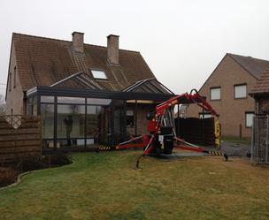 B&F aluwerken bvba - Holsbeek - Opbouw